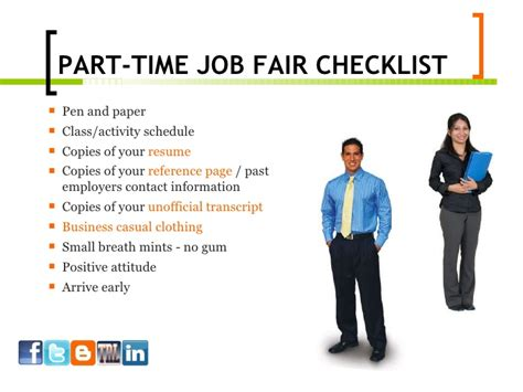 how to work part time fair ppt 7 29
