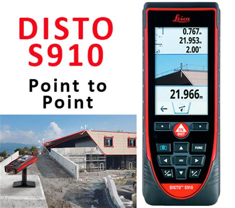 disto s910 leica disto laser distance measure with point