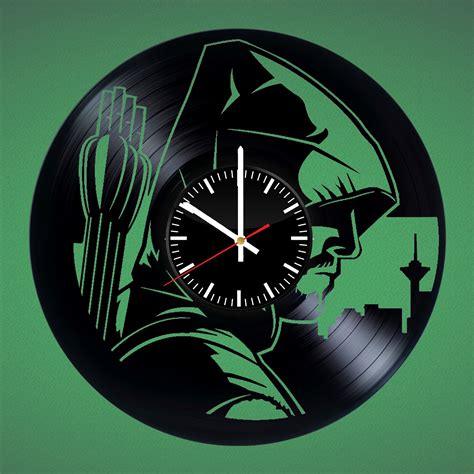 clock made of clocks arrow handmade vinyl record wall clock vinyl clocks