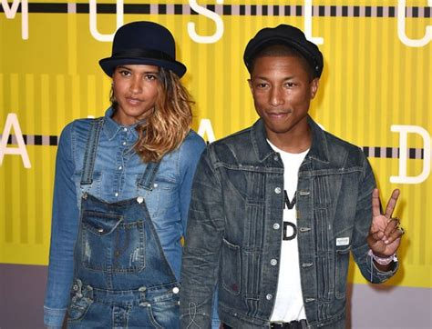 helen lasichanh since october 12 2013 they have one always happy meet pharrell williams and his adorable family