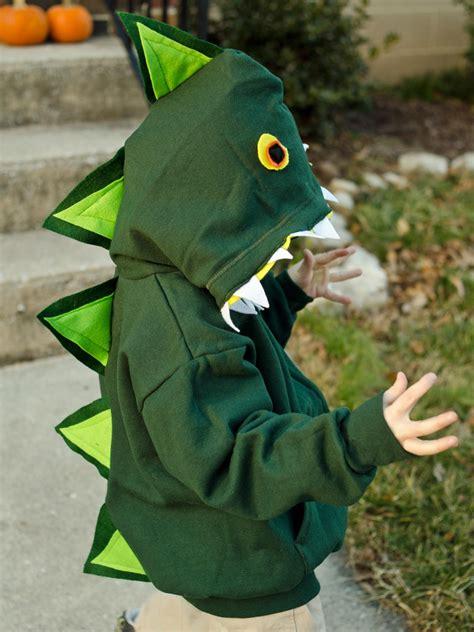 Handmade Dinosaur Costume - easy diy dinosaur costume hgtv