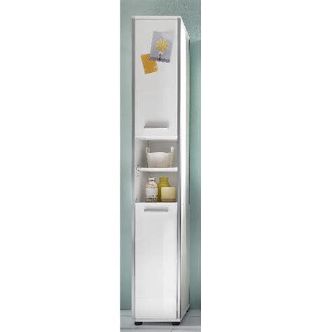 white high gloss bathroom furniture carla right bathroom cabinet in white with high gloss