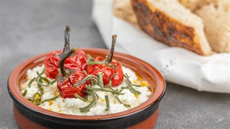 homemade ricotta  sage  roasted cherry peppers