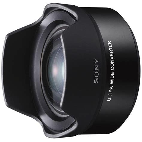 Lensa Aksesoris Sony Fish Eye Converter For Sel16f28 And Sel20f28 sony ultra wide converter for sel16f28 and sel20f28 vclecu2 b h