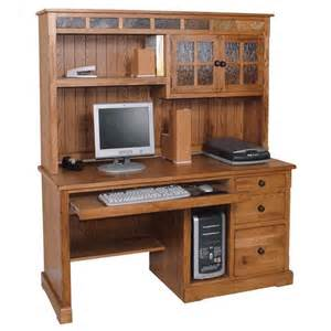 Compact Computer Desk With Hutch Furniture Gt Office Furniture Gt Set Gt Rustic Design Office Set