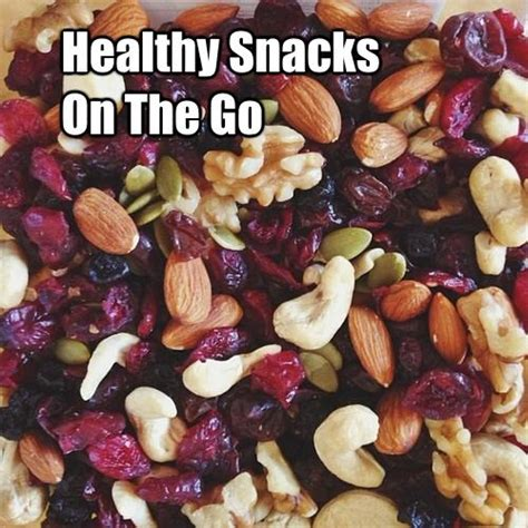 Tips For Healthy On The Go by Healthy Snack Recipes