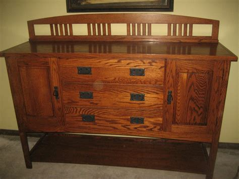 mission oak buffet 17 best images about walnut credenza on oak