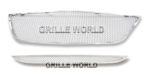chrysler 200 mesh grill for 2011 2014 chrysler 200 stainless steel mesh grille