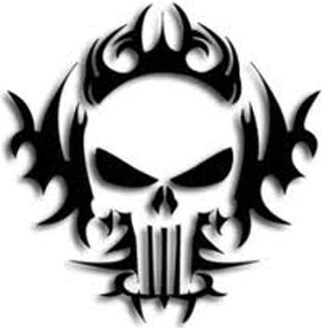 punisher tattoo logo skull pictures to print tribal skulls you can use to