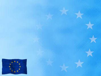 european union flag 03 powerpoint templates
