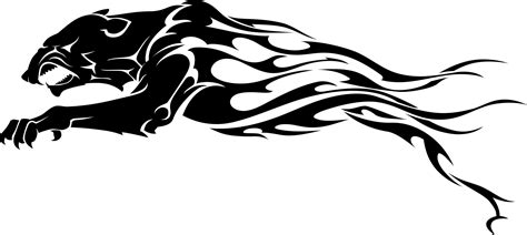 panther tribal tattoos tribal black panther ideas