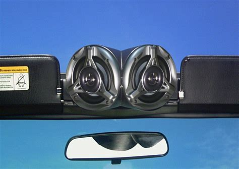 Jeep Speaker Pods Select Increments Sky Pod With Speakers For 55 06 Jeep 174 Cj