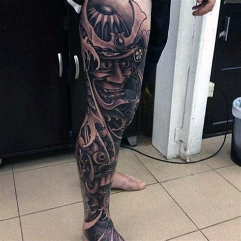 leg sleeve tattoos for men 70 thigh tattoos for manly ink designs