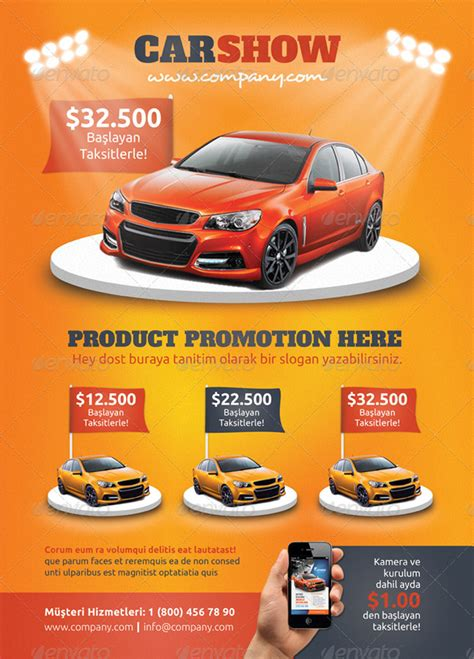 car flyer template car show flyers ideas images
