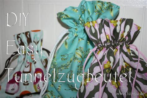diy tunnelzug beutel naehen handmade kultur