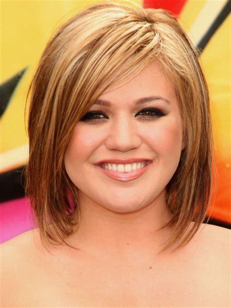 medium chunky bob haircuts dark hair with chunky blonde highlights dark brown hairs