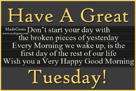 Tuesday morning greetings quotes m4hsunfo