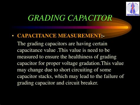 grading capacitor in circuit breaker ppt welcome powerpoint presentation id 397389