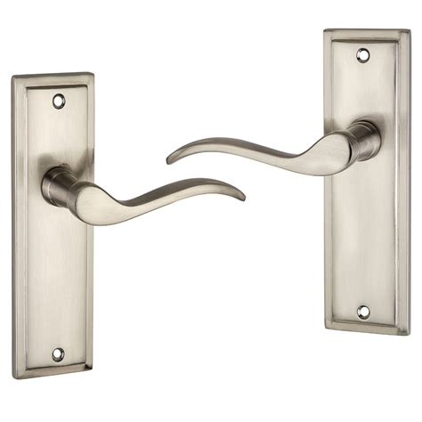 doors handles willow satin effect scroll door handle door knobs