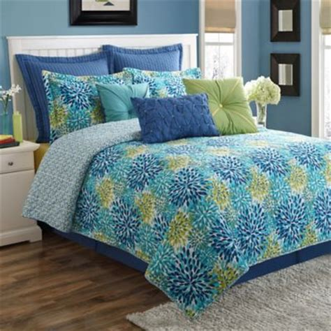 blue green comforter set buy green and blue comforter sets from bed bath beyond