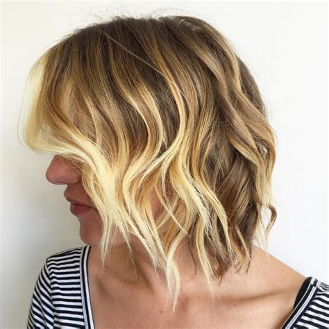 textured bob hairstyle photos multi layered hairstyles for women over 50