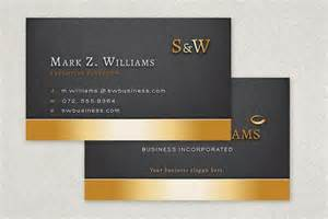 executive business card executive business card template sle inkd 133835 on