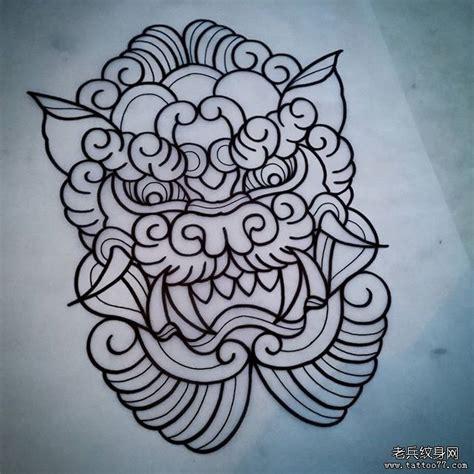 唐狮纹身手稿 排行榜大全