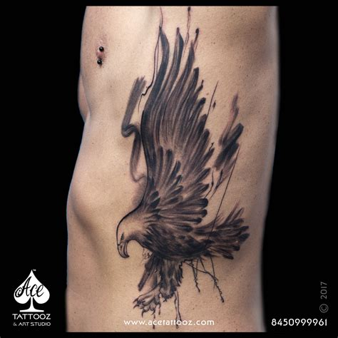 small eagle tattoos freestyle eagle ace tattooz and studio india