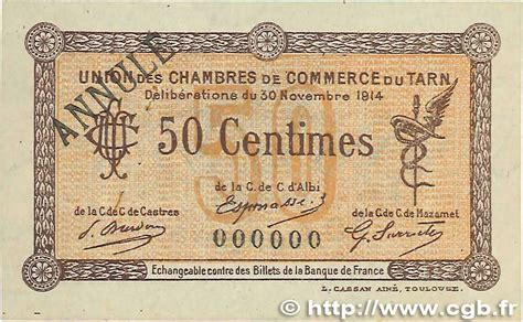chambre de commerce castres 50 centimes annul 233 regionalism and miscellaneous