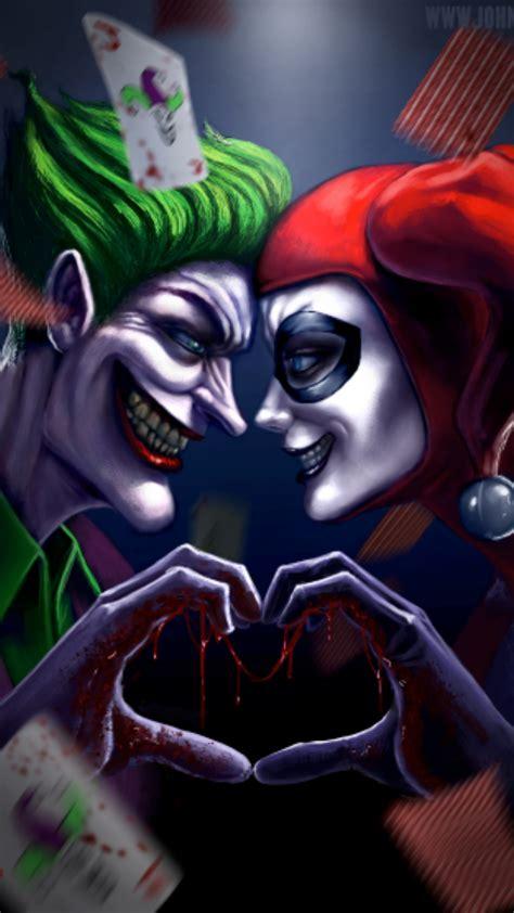 imagenes de joker y arlequin joker and harlequinn iphone 6 plus wallpaper 1080x1920