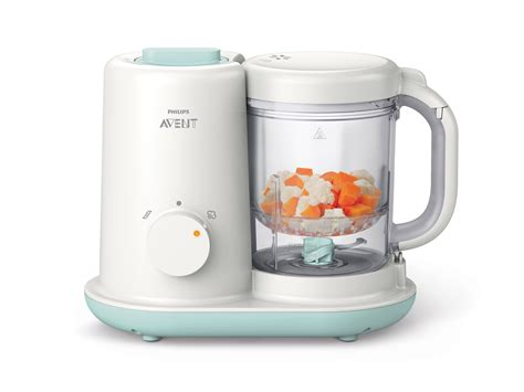 Blender Philips Avent Mini philips avent 2 in 1 baby food prep steamer blender