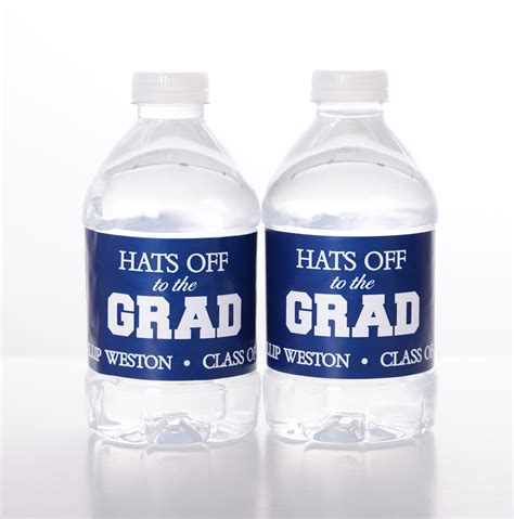printable vinyl for water bottles 25 graduation water bottle labels waterproof self stick