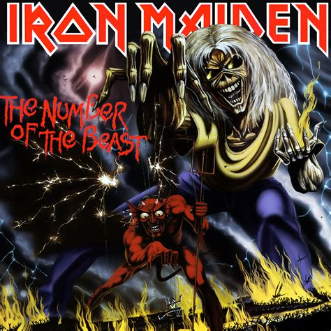 Of The by Albums Iron Maiden S The Number Of The Beast