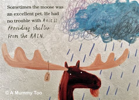 this moose belongs to this moose belongs to me book review a mummy too