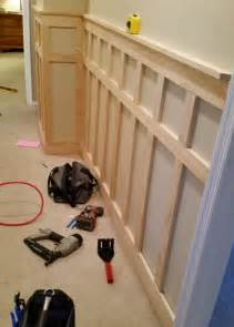 Installing Wainscoting Trim Diy Baseboards Molding And Trim The Budget Decorator