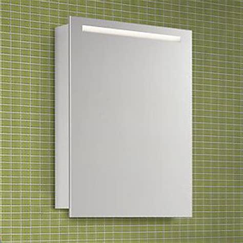 spiegelschrank 50 cm architekt 400 spiegelschrank 50 cm mit led beleuchtung