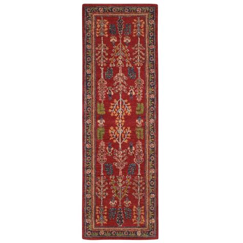 home depot rug runners home decorators collection lenore 2 ft 9 in x 14 ft runner 0546890110 the home depot