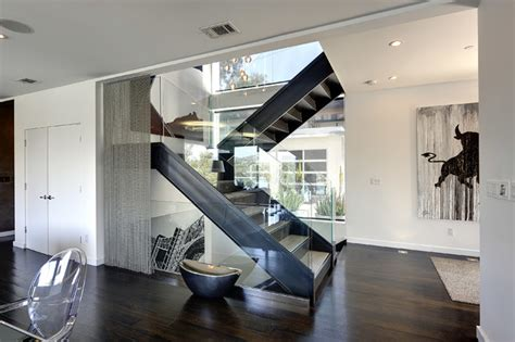 interior illusions home baxter design project contemporary staircase los angeles by interior illusions