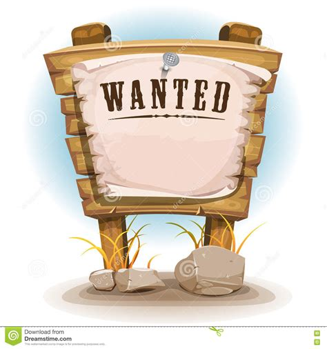 woodworker wanted wood sign with wanted on torn paper stock vector
