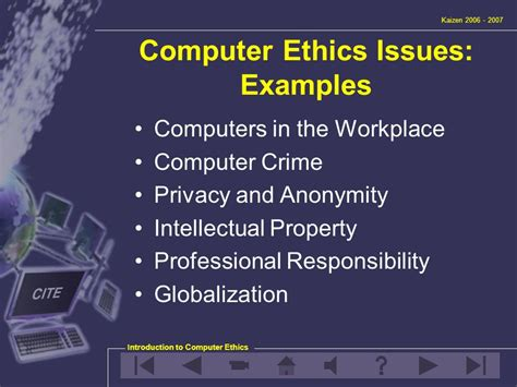 unit 3 introduction to computer ethics ppt