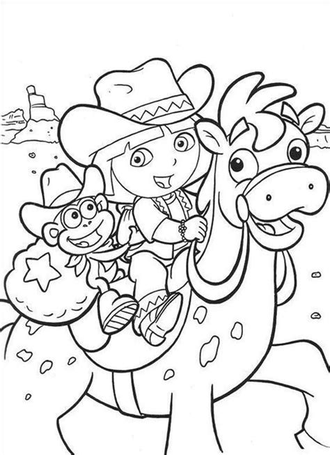 coloring pages of dora and friends free coloring pages of dora and friends