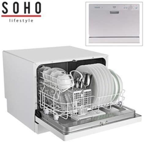 bench top dishwasher buy soho benchtop dishwasher stainless steel