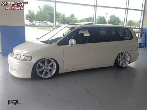 honda odyssey 20 inch wheels honda odyssey niche verona m151 wheels gloss white