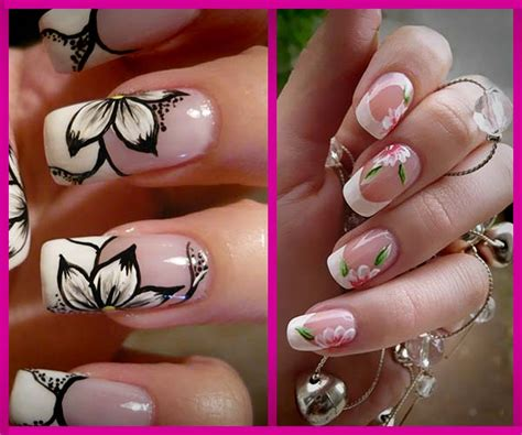imagenes decoracion de uñas flores dise 241 os de u 241 as decoradas con flores nails art