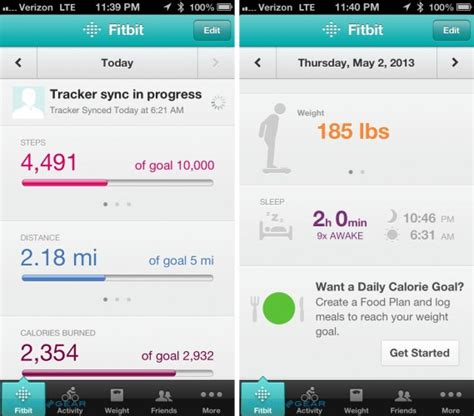 fitbit flex app for android fitbit flex review slashgear