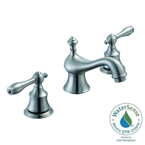Pegasus Estates Faucet by Pegasus Estates 8 In Widespread 2 Handle High Arc