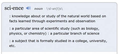 meaning of science merriam webster declares science to be word of the year