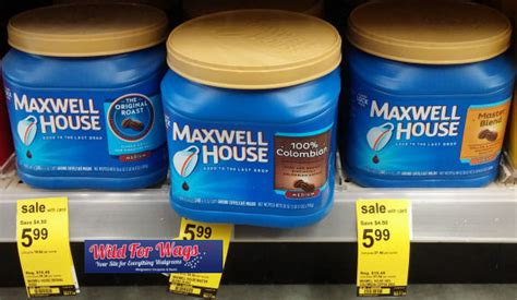 maxwell house coffee on sale maxwell house coffee 28 30 6oz just 4 94
