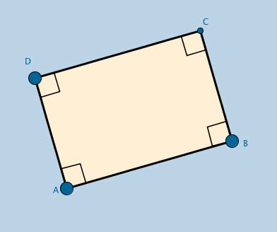 rectangle template with investigation questions – geogebra