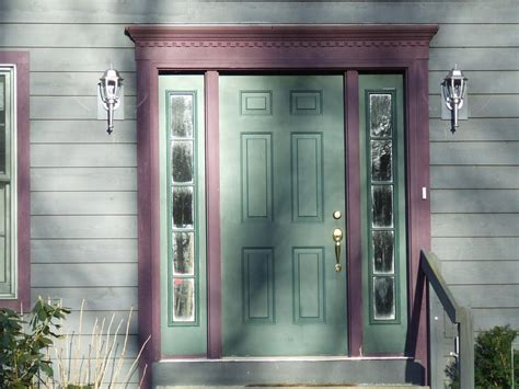 Green Exterior Door Green Front Entry Doors With Sidelights Front Entry Doors With Sidelights Door